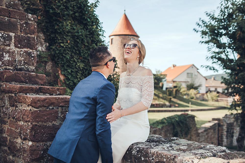 Hermann Mayer Hochzeitsfotografie Heidelberg: Heiraten auf dem Dilsberg